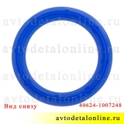 Уплотнитель свечного колодца УАЗ, ГАЗ с ЗМЗ-406, 409, 405, синий силикон Балаково на замену 40624-1007248