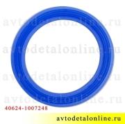 Прокладка свечного колодца 406, 409, 405 ЗМЗ в клапанной крышке УАЗ, ГАЗ, синий силикон, 40624-1007248