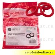 Красный силиконовый уплотнитель свечного колодца 409, 406, 405 ЗМЗ УАЗ, ГАЗ, на замену прокладки 40624.1007248