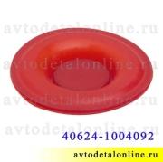 Прокладка диафрагмы клапанной крышки ЗМЗ-409 УАЗ, ГАЗ, 40624-1004092, красный силикон, Ростеко