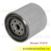 Фильтр масляный УАЗ Патриот и др. с  ЗМЗ-405, 406, пр-во Колан 2101-1012005