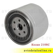 Масляный фильтр Колан 2108-1012005 для ЗМЗ-514, применяется на УАЗ Патриот, Хантер, Буханка