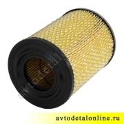 Фильтр воздушный УАЗ Патриот, 3163, Хантер, 31519, инжектор ЗМЗ-409, купить 3160-1109080-12 на замену AG-915