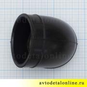 Угловой шланг воздушного фильтра УАЗ Патриот 2007-1012г., 3163-1109402, размеры на фото