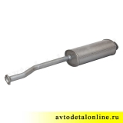 Труба глушитель УАЗ Патриот 3163 до 2008 г, Евро 2, фото, цена, купить на замену 31622-1201010