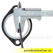 Прокладка выпускного коллектора и приёмной трубы, УАЗ-469, Патриот 3160, Хантер, 3151, Буханка, 452-1203020