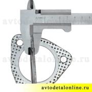 Прокладка под приемную трубу глушителя и резонатор УАЗ-469, Патриот 3160, Хантер, Буханка, 3151-1203088, фото