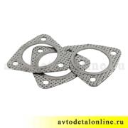 Прокладка между соединением глушителя и резонатора 3151-1203088, фото, УАЗ-469, Патриот 3160, Хантер, Буханка