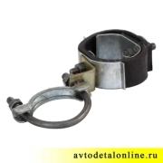Хомут подвески глушителя с резиновым ремнем в сборе УАЗ-469, Хантер, Буханка,  469-1203072/73/74 и 51-1203033