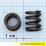Пружина крепления глушителя к нейтрализатору УАЗ Патриот, 31602-1203072, размеры на фото