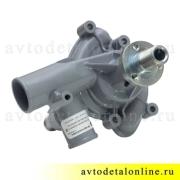 Водяная помпа 406 двигателя ГАЗ, УАЗ производство АДС на замену насоса 4061-1307010-10, фото