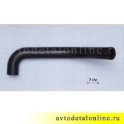 Патрубки радиатора УАЗ Патриот 409 двигатель Евро 3, верхний, подводящий,  3163-1303010, диаметр на фото