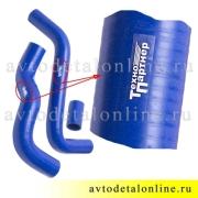 Комплект силиконовых патрубков УАЗ Патриот Евро-2 без кондиционера 31608-1303010/3163-1303027/31601-1303022
