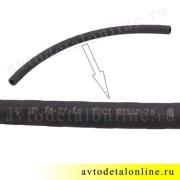 Резиновый шланг расширительного бачка УАЗ Патриот d=18 мм соединительный 3163-1311098 длина 60 см