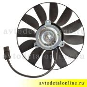 Дополнительный электрический вентилятор охлаждения УАЗ Патриот на радиатор 409 двигателя 3160-1308024