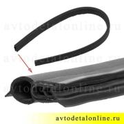 Резиновый уплотнитель электровентилятора охлаждения УАЗ Патриот 31602-1308072