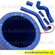 Комплект патрубков радиатора УАЗ Патриот с ЗМЗ-409, Балаково, 5 шлангов 3163-1303010 и 3163-130302 и малые