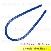Патрубок прямой d=12 мм L=1,1 м силикон, шланг радиатора и печки УАЗ, ГАЗ и др, Технопартнер