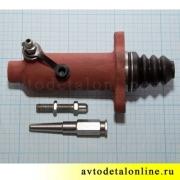 Рабочий цилиндр сцепления УАЗ Патриот, 31605-1602510, длина штока на фото цена деления 1 мм