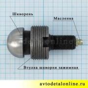Шкворень поворотного кулака для ремонта переднего моста на УАЗ Патриот, Хантер, 3160-2304019, размер, цена