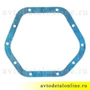 Прокладка крышки картера моста УАЗ переднего и заднего, синяя, 1,5мм