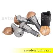 Ремонтный комплект шкворней Ваксойл на УАЗ Патриот, Хантер 3160-2304019  с бронзовыми вкладышами и ключом