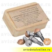 Шкворни Ваксойл на УАЗ в комплекте с бронзовыми вкладышами нов. образца, 3163-2304019-01