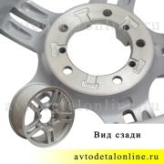 Литой диск колеса УАЗ Патриот КиК R16   7Jx16H2 5/139.7  ET35, фото, 3163-3101015-95