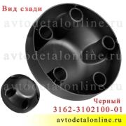 Колпак ступицы УАЗ Патриот, Хантер, 3162-3102100-01 на диск 5 шпилек, глухой, черный