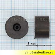 Размер втулки амортизатора УАЗ Патриот, резиновая верхняя подушка на штырь переднего амортизатора 3741-2905440