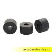 Размер подушки амортизатора УАЗ Патриот, резиновая втулка на штырь переднего амортизатора 3741-2905440