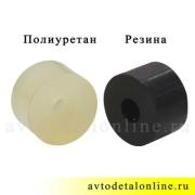 Резинки амортизатора УАЗ Патриот, верхняя полиуретановая втулка на штырь, 3741-2905440, фото