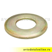 Шайба УАЗ 17,5 пальца амортизатора 451-2905545-01 размер 38х17,5х2 мм, внутренняя