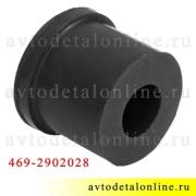 Резиновая втулка ушка рессоры УАЗ 469-2902028 для замены на Патриоте, Хантере, Буханке и др.