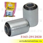 Сайлентблок рессоры УАЗ Патриот 3163-2912020 резинометаллический, к-т 2 шт, Riginal