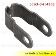 Крепление рулевого демпфера УАЗ Патриот, Профи, ухо-ухо, малый кронштейн 3163-3414202 ОАО УАЗ
