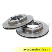 Передний тормозной диск УАЗ Патриот 3163, Хантер 31519, размер, купить на замену 3160-3501076, фото, цена