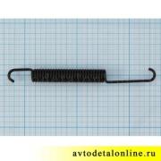 Размер стяжной пружины тормозных колодок УАЗ Патриот с августа 2013, замена 3163-3502035, длина на фото