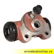 Цилиндр рабочий тормозной задний, размер диаметр 25мм, АДС, 3151-3502040, УАЗ-469, Хантер, Буханка, 31519