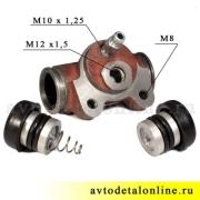 Цилиндр колесный тормозной задний, размер 25мм, АДС, 3151-3502040, УАЗ-469, Хантер, Буханка, 31519