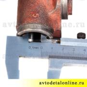 Размер цилиндр колесный тормозной задний, диаметр 25мм, АДС, 3151-3502040, УАЗ-469, Хантер, Буханка, 31519
