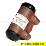 Цилиндр рабочий задних тормозов, размер диаметр 25мм, АДС, 3151-3502040, УАЗ-469, Хантер, Буханка, 31519