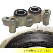 Передний тормозной цилиндр на УАЗ Патриот, Хантер, правый, для замены в сборе,  3160-3501041-10