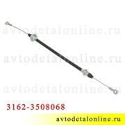 Трос ручного тормоза УАЗ Патриот Евро-2, L=57 см, 3162-3508068