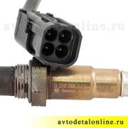 Датчик лямбда-зонда УАЗ Патриот, двигатель 409, Евро-3, купить 3163-3826013 на замену Bosch  0 258 006 537