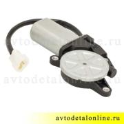 Мотор-редуктор стеклоподъемника УАЗ Патриот 3163 левый, 14 зубьев, часть от 3163-6104500