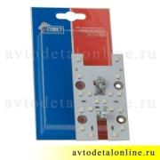 Светодиодная плата ПЛ2-02 плафона освещения УАЗ Патриот 16.3714-02 замена лампочкам салона