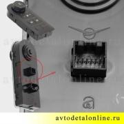 Схема блока управления раздаткой Патриот УАЗ 3163-3769200 с обогревом сидений, 56.3769 на РК Даймос