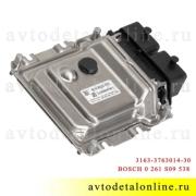 УАЗ Патриот блок управления двигателем ЭБУ 3163-3763014-30 контроллер BASCH 0 261 S09 538
