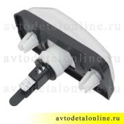 Повторитель поворота УАЗ Патриот белый, боковой, 3163-3726010